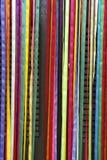 Porte colorée de Brésilien de rubans de carnaval de rideau photos libres de droits