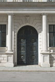 Porte décorative photographie stock