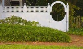 Porte décorative de frontière de sécurité Photo stock