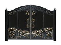 Porte décorative forte Photographie stock libre de droits