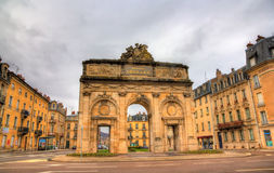 Porte Désilles, a triumphal arch in the city of Nancy Royalty Free Stock Images