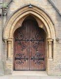 Porte d'église Photographie stock libre de droits