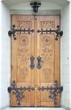 Porte d'église de ville de Zakopane Images libres de droits