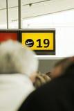 Porte d'aéroport Photo stock