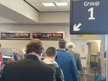 Porte d'aéroport Images stock
