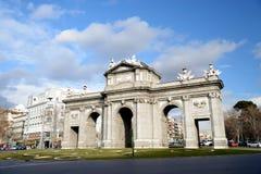 Porte d'Alcala photographie stock libre de droits