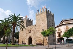 Porte d'Alcudia, Majorca image stock