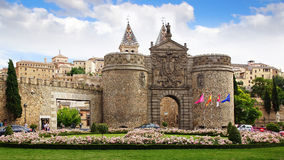Porte d'Alfonso VI, Toledo Photos libres de droits