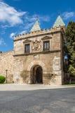 Porte d'Alfonso VI à Toledo Image libre de droits