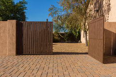 Porte d'allée Photo libre de droits