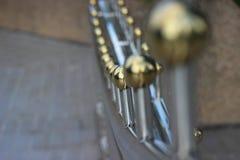 Porte d'alliage au luxe Photographie stock libre de droits