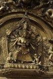 Porte d'or Bhaktapur, Népal Image libre de droits