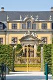Porte d'or dans des jardins de Herrenhausen, Hanovre, Allemagne Photos libres de droits