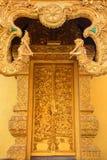 Porte d'or de temple Photos libres de droits