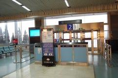 Porte d'embarquement Photos libres de droits