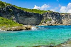 Porte D ` enfer, Guadeloupe, Caraïbische, Franse Antillen royalty-vrije stock fotografie