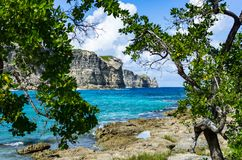 Porte d`enfer, Guadeloupe, Caribbean, France Stock Photo