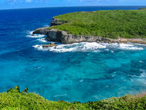 Porte d'Enfer Guadeloupe Royalty Free Stock Photo