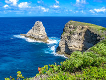 Porte d'Enfer Guadeloupe royalty free stock image
