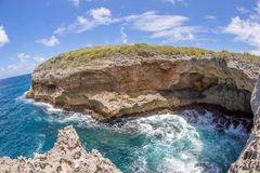 Porte d enfer, Guadeloupe Royalty Free Stock Photos