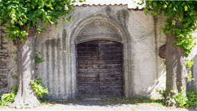 Porte d'entrée dans Visby, Gotland Images libres de droits