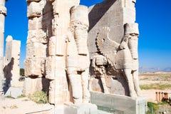 Porte d'entrée de Persepolis image libre de droits