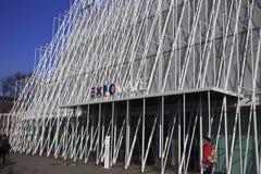 Porte d'EXPO à Milan 2015 Image libre de droits