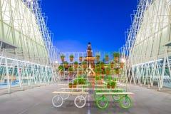 Porte 2015 d'expo à Milan, Italie Photographie stock libre de droits