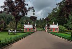 Porte d'héritage au jardin botanique d'Ooty images libres de droits
