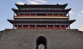 Porte d'hommes de Zhengyang Image libre de droits