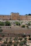 Porte d'or, Jérusalem Photos stock