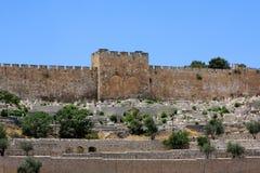 Porte d'or, Jérusalem image stock