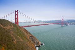 Porte d'or, San Fracisco, Etats-Unis Photos libres de droits