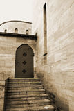 Porte d'un couvent photos libres de droits