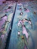 Porte dans Burano, Italie Images libres de droits