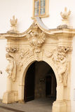 Porte dans la citadelle Image libre de droits
