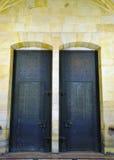 Porte dans le château à Praha merveilleuse Photo libre de droits