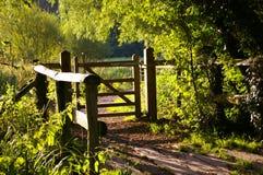 Porte dans le pré de Smallbrook Images stock