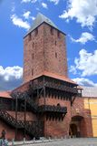 Porte dans Namyslow Images stock