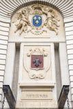 Porte de巴黎在里尔 免版税库存照片
