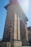 Porte de Bourgogne πύλη στο Μπορντώ, Γαλλία Στοκ εικόνα με δικαίωμα ελεύθερης χρήσης