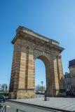 Porte de Bourgogne πύλη στο Μπορντώ, Γαλλία Στοκ Φωτογραφία