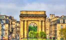 Porte de Bourgogne in Bordeaux, France Stock Photo