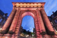 Porte de Bourgogne in Bordeaux Royalty Free Stock Photography