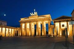 Porte de Brandebourg À Berlin Image stock
