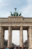 Porte de Brandebourg à Berlin photographie stock