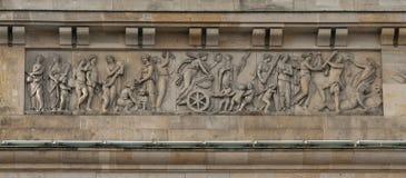 Porte de Brandebourg à Berlin Image libre de droits