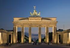 Porte de Brandebourg À Berlin Photos libres de droits