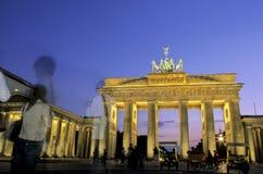 Porte de Brandebourg Allemagne de Berlin Photos libres de droits
