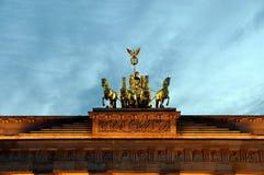 Porte de Brandebourg, Berlin photos stock